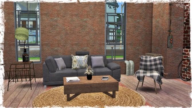 Sims 4 Old Brick Wall at TaTschu`s Sims4 CC