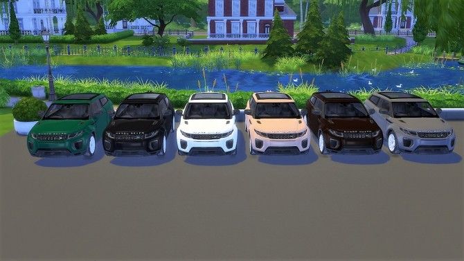 Land Rover Range Rover Evoque at LorySims image 1157 670x377 Sims 4 Updates