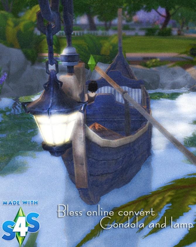 Gondola & Lamp at Kyrie image 1165 670x847 Sims 4 Updates
