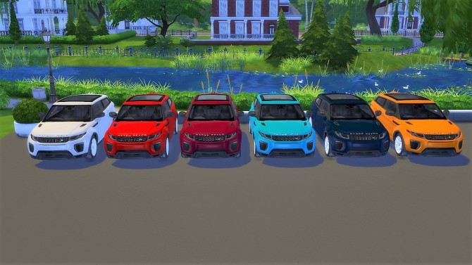 Land Rover Range Rover Evoque at LorySims image 1167 670x377 Sims 4 Updates
