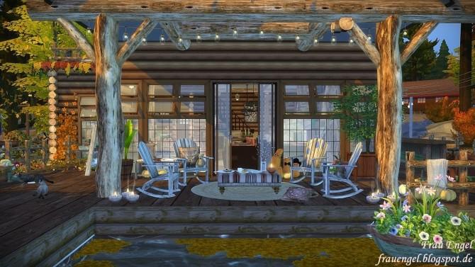 Sims 4 Autumn mood cabin at Frau Engel