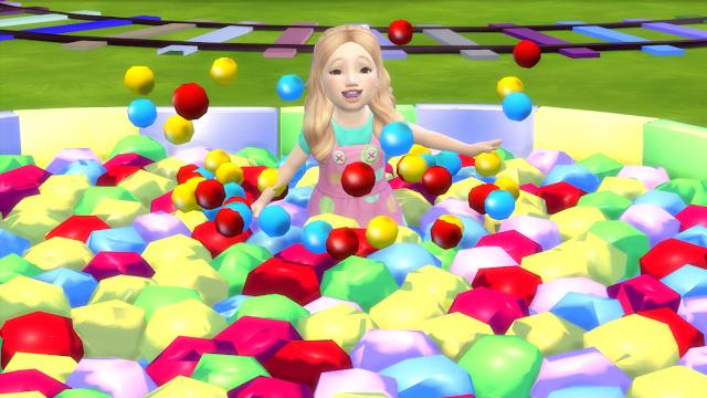 Sims 4 Star Ball Pit for Toddlers at Sanjana sims