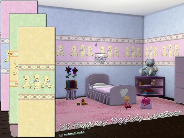 MB Higgledy Piggledy LulaBear wallpaper by matomibotaki at TSR image 1173 Sims 4 Updates