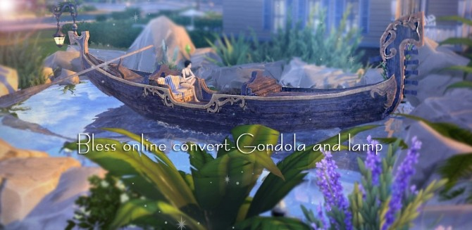 Gondola & Lamp at Kyrie image 1175 670x327 Sims 4 Updates