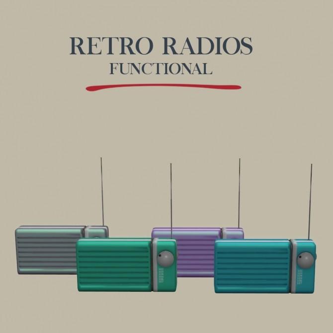 Retro Radio at Leo Sims image 1192 670x670 Sims 4 Updates