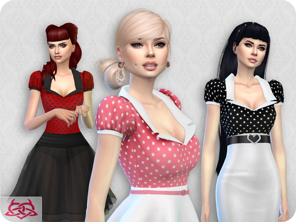 Sims 4 Matilde blouse RECOLOR 6 by Colores Urbanos at TSR