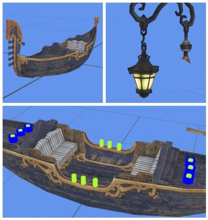 Gondola & Lamp at Kyrie image 1195 670x708 Sims 4 Updates