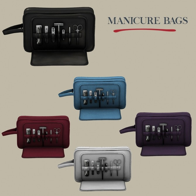 Manicure Bags at Leo Sims image 1202 670x670 Sims 4 Updates
