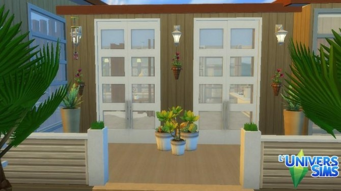 SimTrop lot by Falco at L'UniverSims image 1208 670x377 Sims 4 Updates