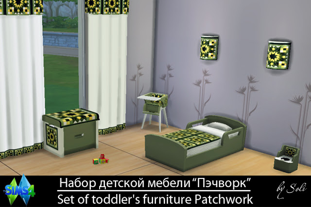Patchwork set at Soli Sims 4 image 1212 Sims 4 Updates