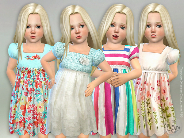 Sims 4 Dresses Collection P35 by lillka at TSR