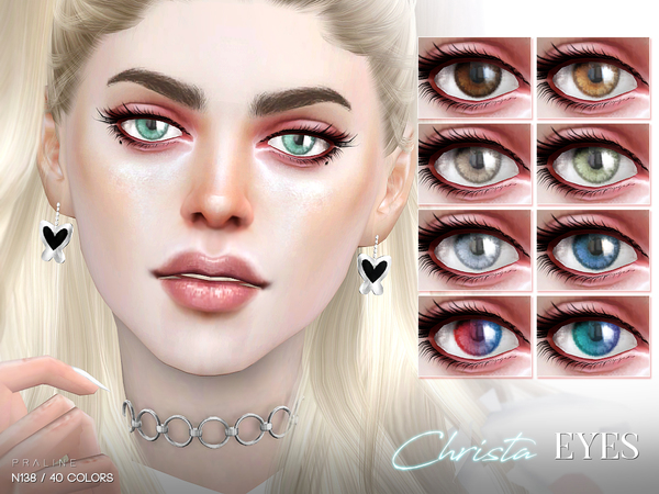 Sims 4 Christa Eyes N138 by Pralinesims at TSR