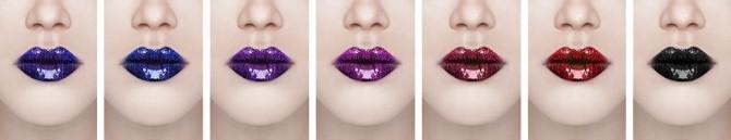 Sims 4 Reflective lipstick #16 at Magic bot
