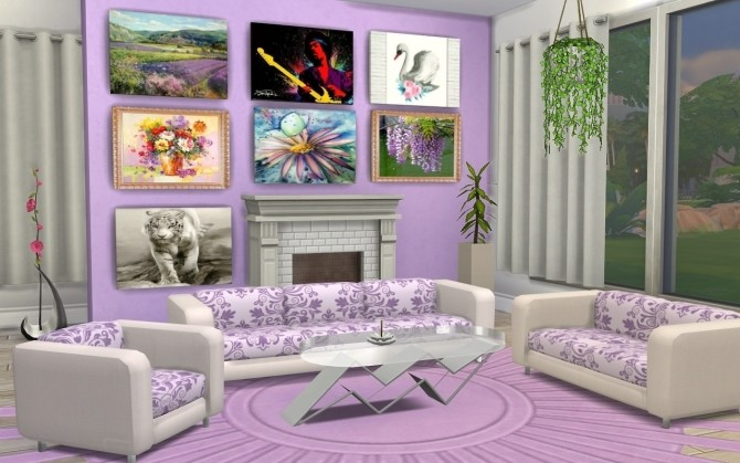 Livingroom recolors at Louisa Creations4Sims image 1231 670x419 Sims 4 Updates