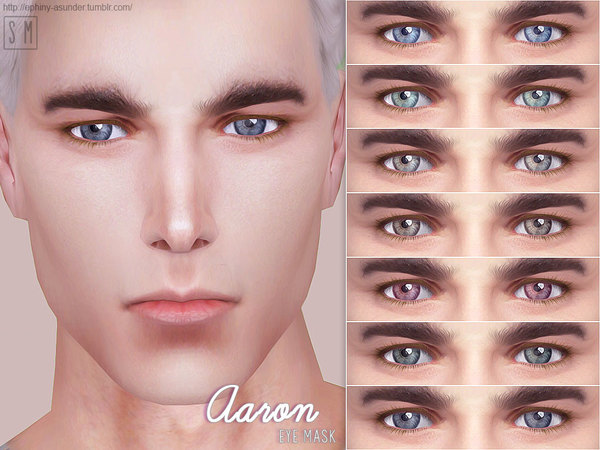Aaron Eye Mask by Screaming Mustard at TSR image 1232 Sims 4 Updates