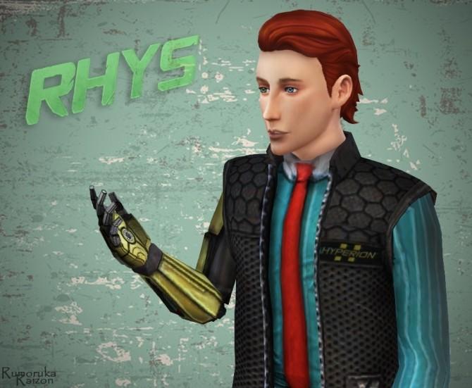 Rhys uniform and shoes at Rumoruka Raizon image 1237 670x551 Sims 4 Updates