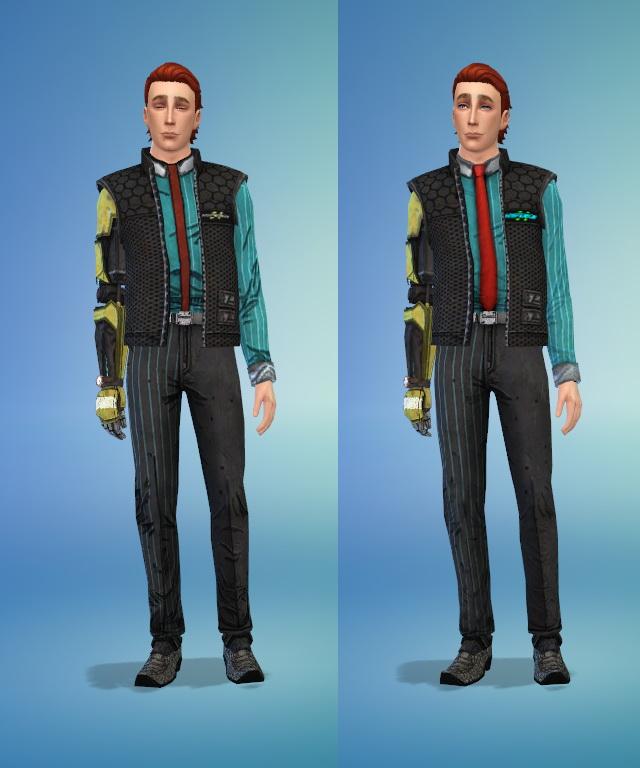 Rhys uniform and shoes at Rumoruka Raizon image 1247 Sims 4 Updates