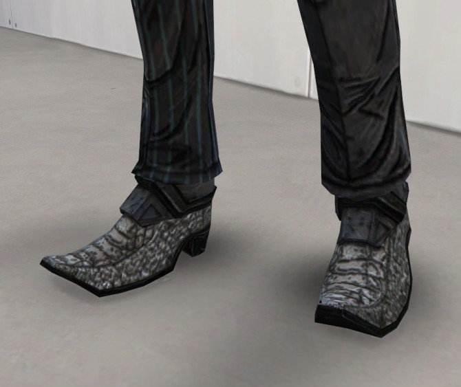 Rhys uniform and shoes at Rumoruka Raizon image 1258 670x563 Sims 4 Updates