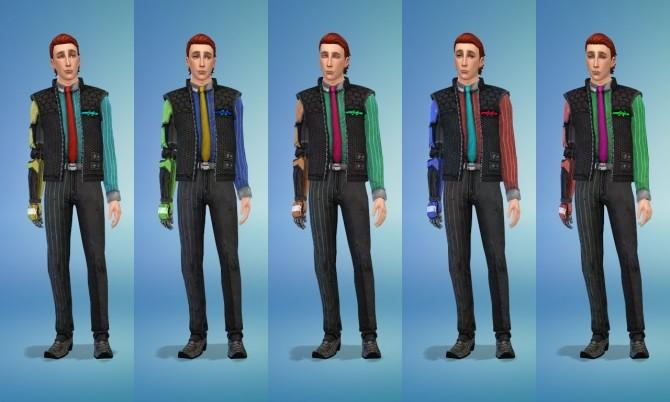 Rhys uniform and shoes at Rumoruka Raizon image 1268 670x402 Sims 4 Updates