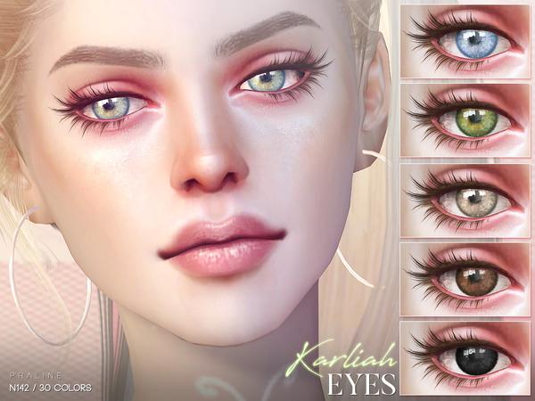 Sims 4 Karliah Eyes N142 by Pralinesims at TSR