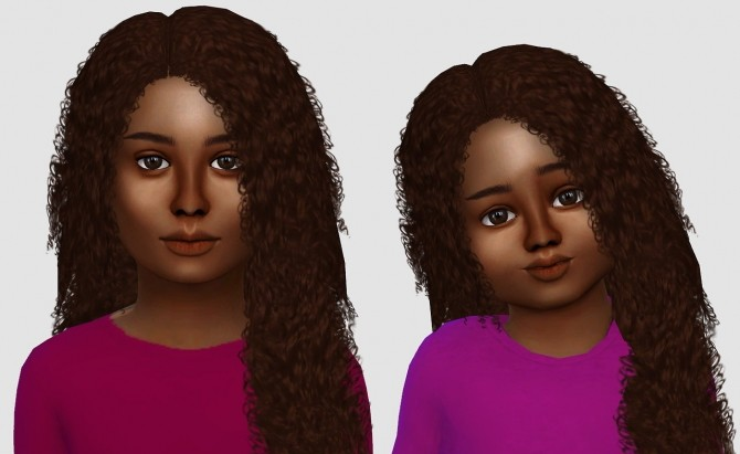 Alessia, Luna & Kai hair edits at Simiracle image 1278 670x411 Sims 4 Updates