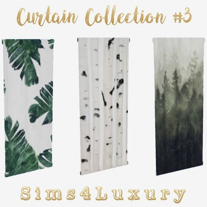 Curtain Collection #3 at Sims4 Luxury image 1284 670x670 Sims 4 Updates