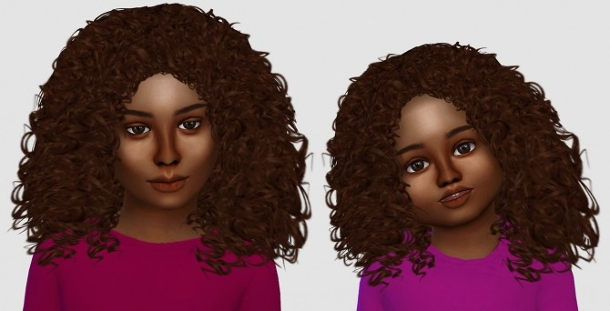 Alessia, Luna & Kai hair edits at Simiracle image 1288 670x342 Sims 4 Updates
