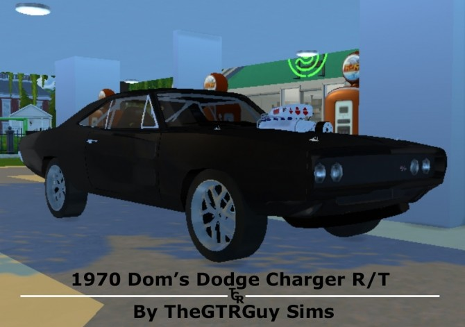 1970 Dom's Dodge Charger R/T at TheGTRGuySims image 1291 670x471 Sims 4 Updates