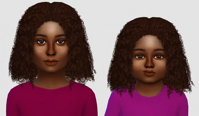 Alessia, Luna & Kai hair edits at Simiracle image 1298 670x392 Sims 4 Updates