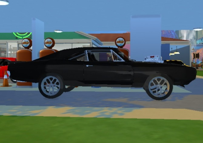 1970 Dom's Dodge Charger R/T at TheGTRGuySims image 1301 670x471 Sims 4 Updates