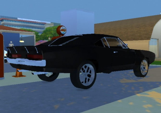 1970 Dom's Dodge Charger R/T at TheGTRGuySims image 1311 670x471 Sims 4 Updates