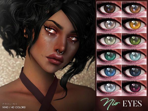 Sims 4 Nio Eyes N140 by Pralinesims at TSR