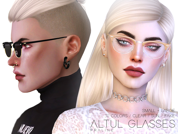 Altul Glasses by Pralinesims at TSR image 1328 Sims 4 Updates