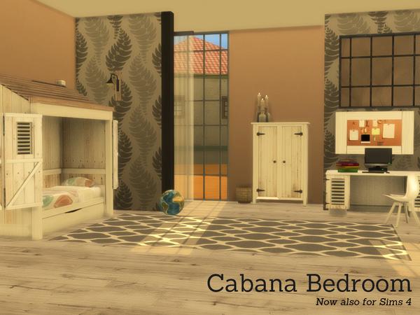 Cabana Bedroom by Angela at TSR image 1350 Sims 4 Updates