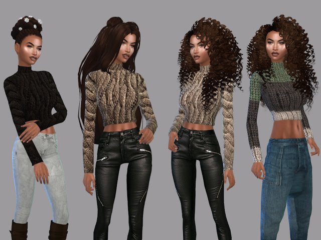 Sims 4 Earty Fall Shirt Recolor at Teenageeaglerunner