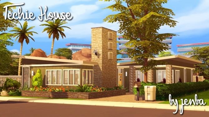 Techie House at Jenba Sims image 1382 670x377 Sims 4 Updates