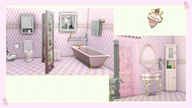 CHIC BATHROOM at Alelore Sims Blog image 139 670x377 Sims 4 Updates