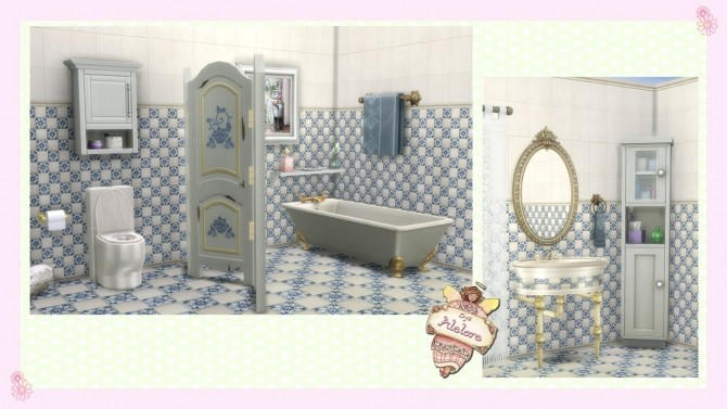 CHIC BATHROOM at Alelore Sims Blog image 141 670x377 Sims 4 Updates