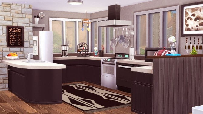 Techie House at Jenba Sims image 1414 670x377 Sims 4 Updates