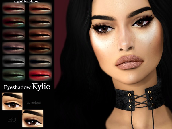 Kylie eyeshadow by ANGISSI at TSR image 1416 Sims 4 Updates