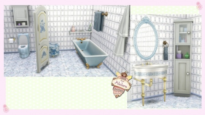 CHIC BATHROOM at Alelore Sims Blog image 142 670x377 Sims 4 Updates
