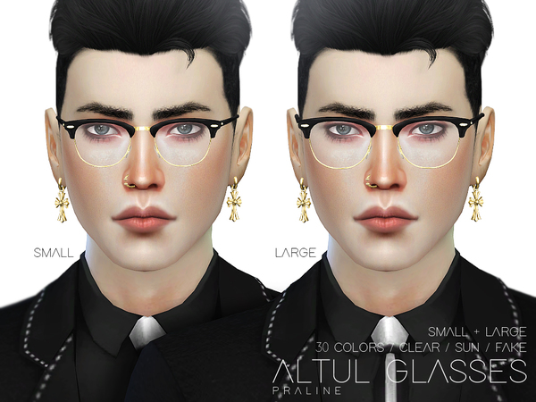 Altul Glasses by Pralinesims at TSR image 1428 Sims 4 Updates