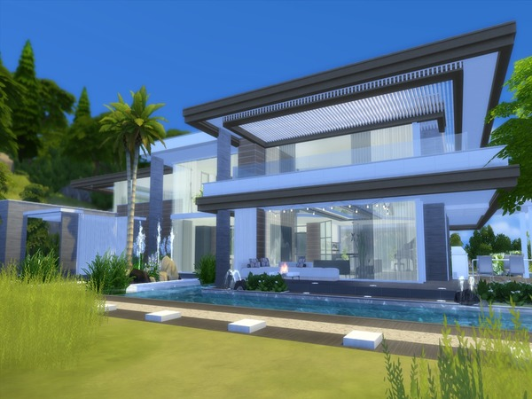 Aurelia house by Suzz86 at TSR image 1429 Sims 4 Updates