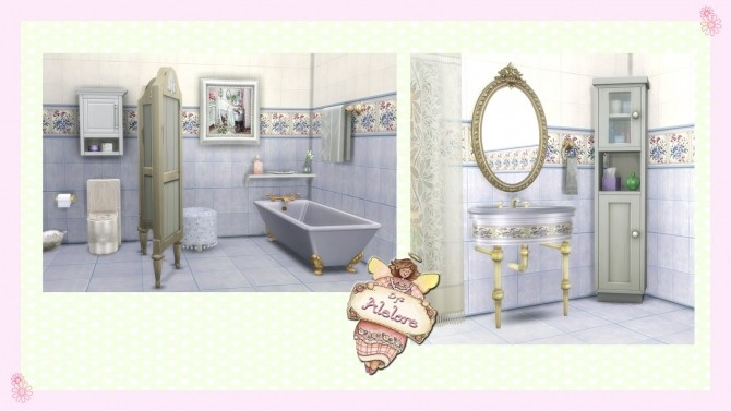 CHIC BATHROOM at Alelore Sims Blog image 143 670x377 Sims 4 Updates