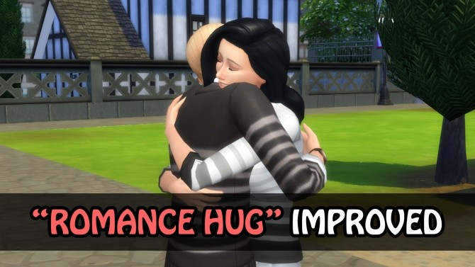 Sims 4 Embrace Interaction Improved by simsilver0 at Mod The Sims