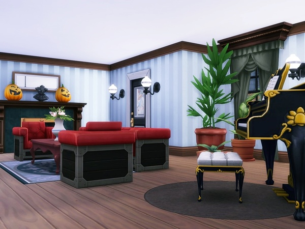 Luxury Suburban House by MychQQQ at TSR image 1433 Sims 4 Updates