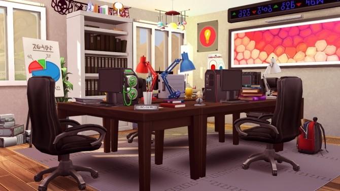 Techie House at Jenba Sims image 1442 670x377 Sims 4 Updates