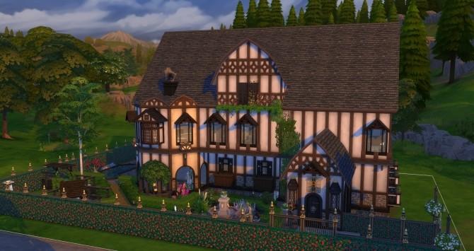 Sims 4 Windhamburger house NO CC by busabus at Mod The Sims