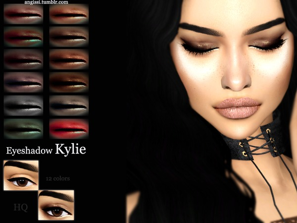 Kylie eyeshadow by ANGISSI at TSR image 1516 Sims 4 Updates