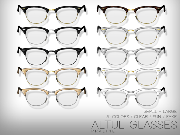 Altul Glasses by Pralinesims at TSR image 1526 Sims 4 Updates